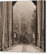 Brooklyn Bridge Canvas Print by JC Findley