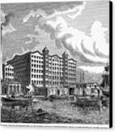 Brooklyn: Sugar Refinery Canvas Print by Granger