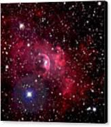 Bubble Nebula Canvas Print by Jim DeLillo
