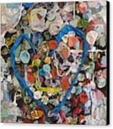 Bubblegum Love Canvas Print by Tim Allen