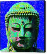 Buddha 20130130p18 Canvas Print by Wingsdomain Art and Photography