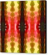 Cactus Vibrations 2 Canvas Print by Amy Vangsgard