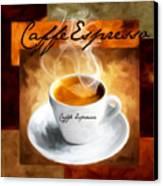 Caffe Espresso Canvas Print by Lourry Legarde