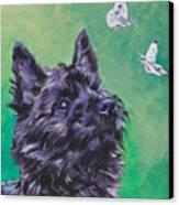 Cairn Terrier Canvas Print by Lee Ann Shepard
