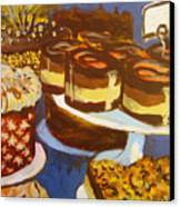 Cake Case Canvas Print by Tilly Strauss