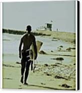 California Surfer Canvas Print by Scott Pellegrin