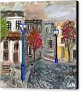 Calle Chile Canvas Print by Carlos Camus