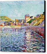 Calvados Canvas Print by Paul Signac