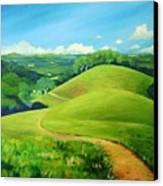 Canada Del Oro Ridge Canvas Print by Stephanie  Maclean
