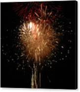 Candle Burst Canvas Print by Norman  Andrus