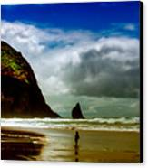 Cannon Beach At Dusk IIi Canvas Print by David Patterson