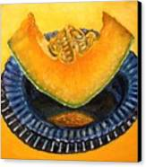 Cantaloupe Oil Painting Canvas Print by Natalja Picugina