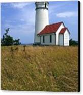 Cape Blanco Light Canvas Print by Winston Rockwell