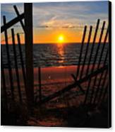Cape Cod Sunset Canvas Print by Catherine Reusch  Daley