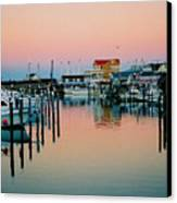 Cape May After Glow Canvas Print by Steve Karol