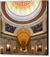 Capitol Interior II Canvas Print by Ricky Barnard