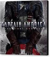 Captain America The First Avenger  Canvas Print by Movie Poster Prints