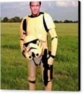 Captain James T Kirk Stormtrooper Canvas Print by Paul Van Scott
