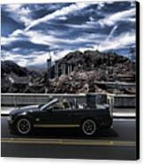 Car Canvas Print by Marco Moscadelli