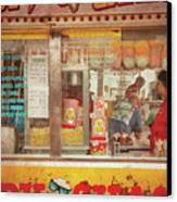 Carnival - The Candy Shack Canvas Print by Mike Savad