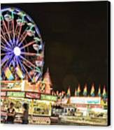 carnival Fun and Food Canvas Print by James BO  Insogna
