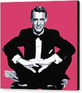 Cary Grant Canvas Print by David Lloyd Glover