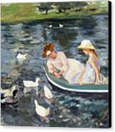 Cassatt: Summertime, 1894 Canvas Print by Granger