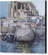 Castro Urdiales Canvas Print by Tomas Castano