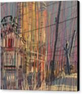Cement Hopper II Canvas Print by Donald Maier