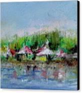 Central Park Ny Canvas Print by Joyce A Guariglia