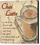 Chai Latte Canvas Print by Debbie DeWitt