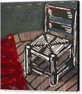 Chair II Canvas Print by Peter Allan