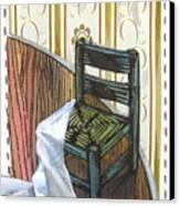 Chair Iv Canvas Print by Peter Allan