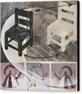 Chair Xi Canvas Print by Peter Allan