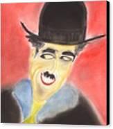 Chaplin Canvas Print by Roger Cummiskey