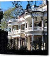 Charlestons Beautiful Architecure Canvas Print by Susanne Van Hulst