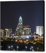 Charlotte Night Canvas Print by Brian Young