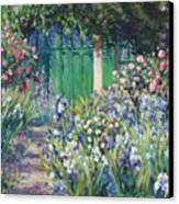 Charmed Entry - Monet Canvas Print by L Diane Johnson