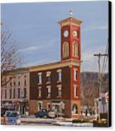 Chatham Clock Tower Canvas Print by Kenneth Young
