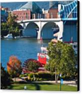 Chattanooga Landmarks Canvas Print by Tom and Pat Cory