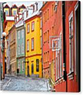 Cheb An Old-world-charm Czech Republic Town Canvas Print by Christine Till