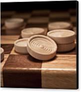 Checkers II Canvas Print by Tom Mc Nemar