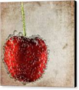 Cherry Fizz Canvas Print by Al  Mueller