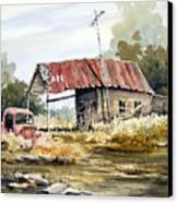 Cheyenne Valley Station Canvas Print by Sam Sidders