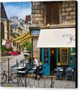 Chez Julien Canvas Print by Inge Johnsson