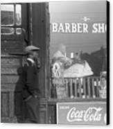 Chicago: Barber Shop, 1941 Canvas Print by Granger