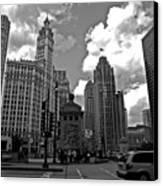 Chicago Canvas Print by Miranda  Miranda