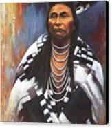 Chief Joseph Canvas Print by Harvie Brown