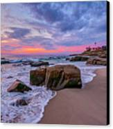 Chris's Rock Canvas Print by Peter Tellone