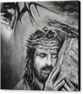 Christ Canvas Print by Carla Carson
